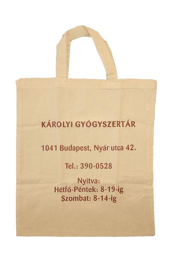 Textil táska egyedi logóval